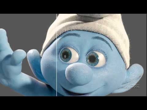 Как создавали Смурфиков The Smurfs.flv